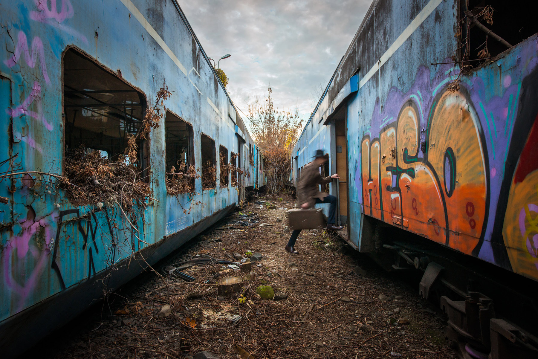 Riding The Ghost Train - Alex Axon Photography