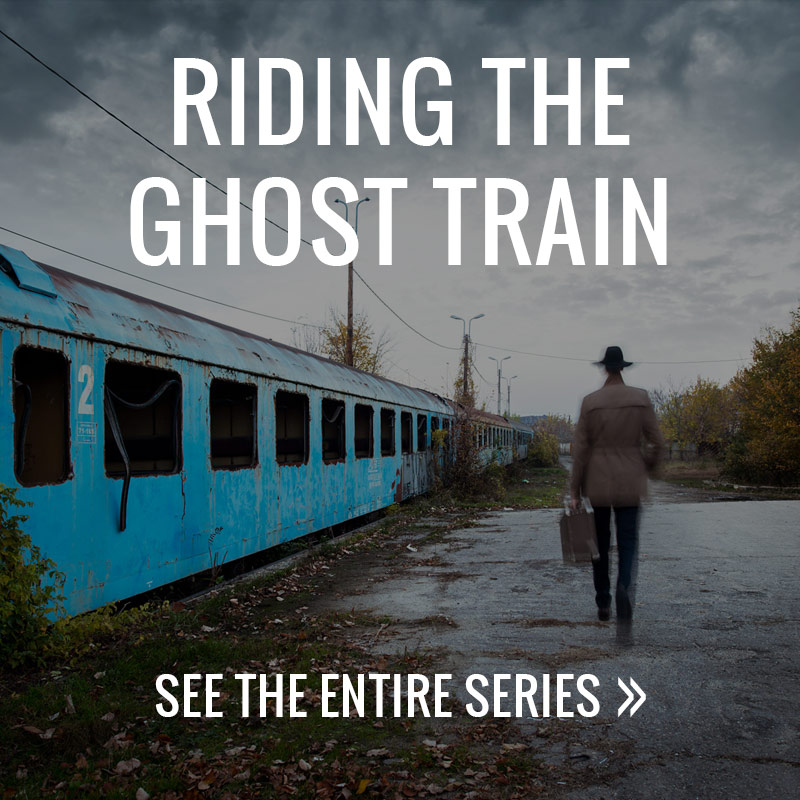 Riding The Ghost Train - photo series