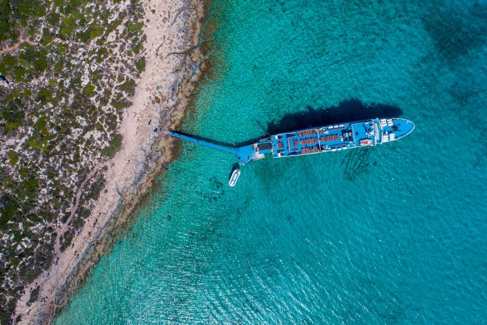 Boat Crete Drone Photography Alex Axon