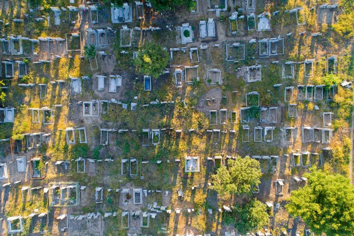 Cemetery Bulgary Alex Axon Photo Drone Photo