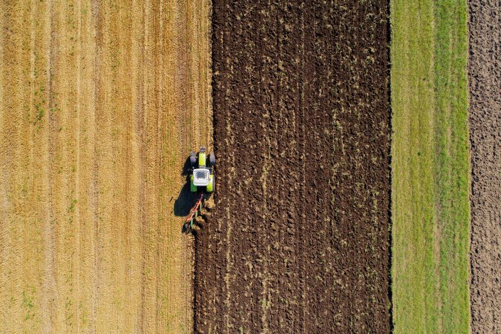 Tractor Alex Axon Drone Photography