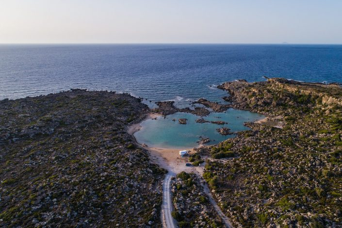 White Lake Crete Drone Photography -Alex Axon