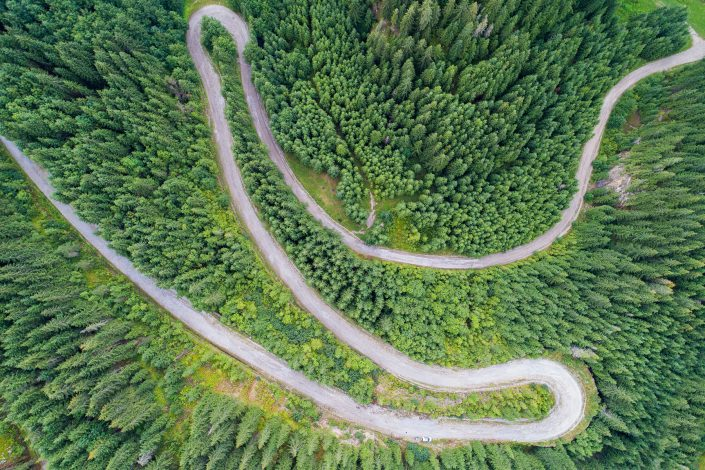 Winding Road Alex Axon Photography Drone